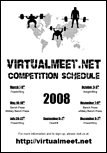 2008 Competition Schedule